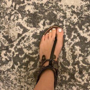 Zara dangle sandals